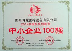 中国科技创新型中小企业100强