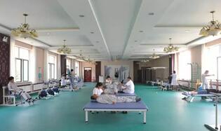 内蒙包头市包钢阳光康复医院选择飞龙医疗外星舱
